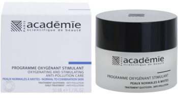 Academie Normal to Combination Skin crema hidratante y fortalecedora para rostro
