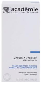 Academie Normal to Combination Skin освіжаюча абрикосова маска