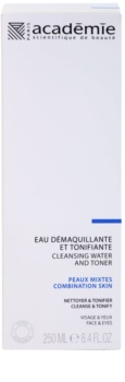 Academie Normal to Combination Skin очищуючий тонік для обличчя та очей