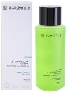 Academie Oily Skin čistilni gel za odstranjevanje ličil