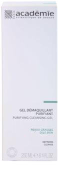 Academie Oily Skin odličovací čisticí gel