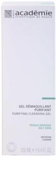 Academie Oily Skin почистващ гел за лице