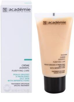 Academie Oily Skin normalisierende und mattierende Tages - und Nachtcreme