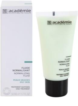 Academie Oily Skin нормализиращ флуид за намаляване омазняването на кожата