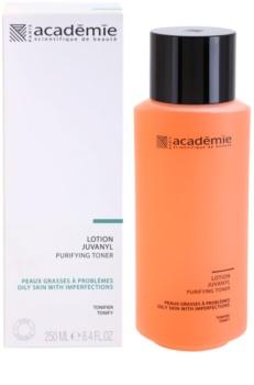 Academie Oily Skin очищуючий тонік для шкіри з недоліками