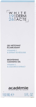 Academie Derm Acte Whitening čisticí gel pro rozjasnění pleti