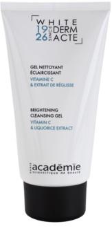 Academie Derm Acte Whitening gel de limpeza para pele radiante