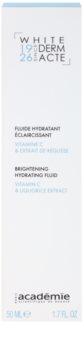 Academie Derm Acte Whitening loción hidratante iluminadora