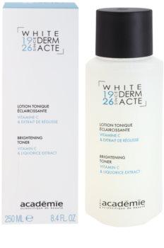 Académie Derm Acte Whitening lotion tonique illuminatrice