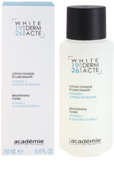 Academie Derm Acte Whitening lozione tonica illuminante