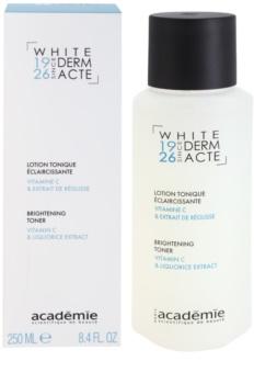 Academie Derm Acte Whitening tonik rozjaśniający