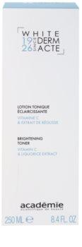 Academie Derm Acte Whitening solutie tonica cu efect de iluminare
