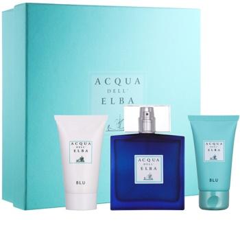 Acqua dell' Elba Blu Men Gift Set  IV.
