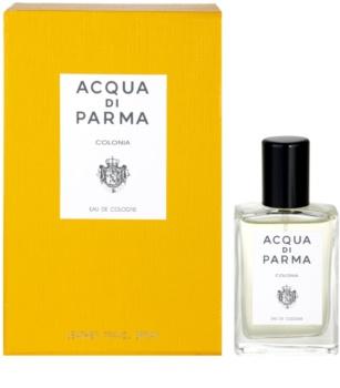 Acqua di Parma Colonia kolinská voda unisex 30 ml + s koženým púzdrom