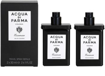 Acqua di Parma Colonia Colonia Essenza kolinská voda pre mužov 2x30 ml (2x náplň s rozprašovačom)