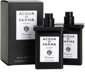 Acqua di Parma Colonia Colonia Essenza acqua di Colonia per uomo 2x30 ml (2x ricariche con diffusore)