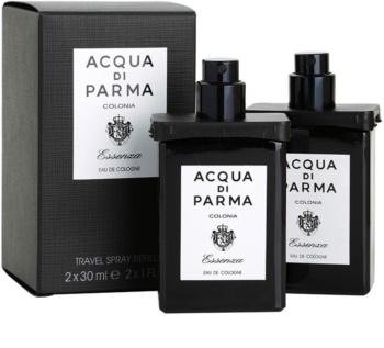 Acqua di Parma Colonia Essenza woda kolońska dla mężczyzn 2x30 ml (2x uzupełnienie z atomizerem)
