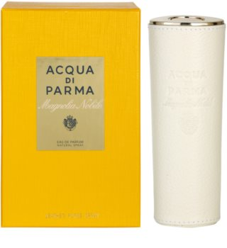 Acqua di Parma Nobile Magnolia Nobile parfumovaná voda pre ženy 20 ml + kožené púzdro (znovuplniteľné)