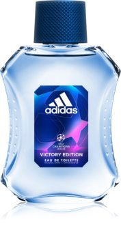 Adidas UEFA Victory Edition Eau de Toilette for Men 100 ml