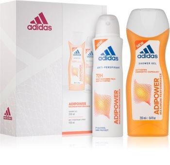 Adidas Adipower zestaw upominkowy I. dla kobiet