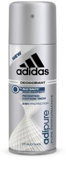 Adidas Adipure déo-spray pour homme 150 ml
