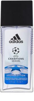 Adidas UEFA Champions League Arena Edition дезодорант з пульверизатором для чоловіків 75 мл