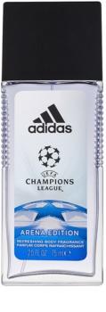 Adidas UEFA Champions League Arena Edition deodorante con diffusore per uomo 75 ml