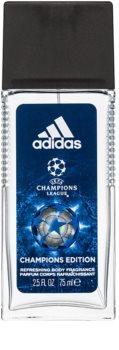 Adidas UEFA Champions League Champions Edition Дезодорант с пулверизатор за мъже 75 мл.