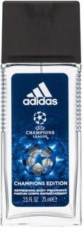 Adidas UEFA Champions League Champions Edition déodorant avec vaporisateur pour homme 75 ml