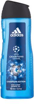 Adidas UEFA Champions League Champions Edition gel douche pour homme 400 ml