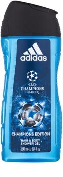 Adidas UEFA Champions League Champions Edition gel za tuširanje za muškarce 250 ml