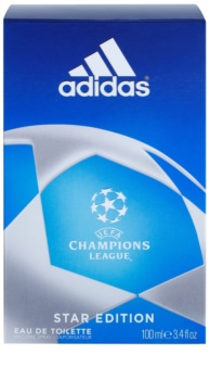 Adidas Champions League Star Edition Eau de Toilette for Men 100 ml