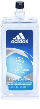 Adidas Champions League Star Edition déodorant avec vaporisateur pour homme 75 ml
