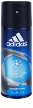 Adidas Champions League Star Edition deodorant Spray para homens 150 ml
