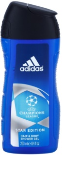 Adidas Champions League Star Edition gel doccia per uomo 250 ml