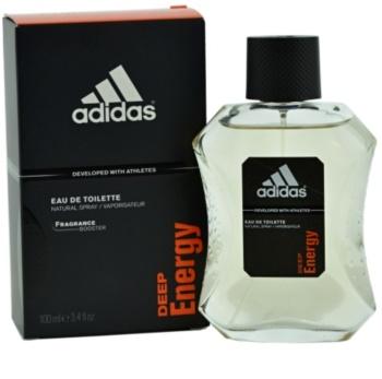 Adidas Deep Energy Eau de Toilette voor Mannen 100 ml