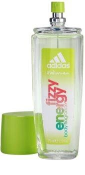 Adidas Fizzy Energy deodorant s rozprašovačom pre ženy 75 ml