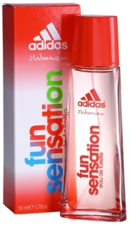 Adidas Fun Sensation eau de toilette pentru femei 50 ml