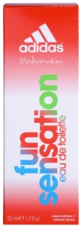 Adidas Fun Sensation Eau de Toilette for Women 50 ml