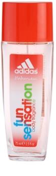 Adidas Fun Sensation déodorant avec vaporisateur pour femme