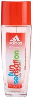 Adidas Fun Sensation deodorant s rozprašovačom pre ženy 75 ml