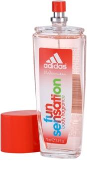 Adidas Fun Sensation desodorizante vaporizador para mulheres 75 ml