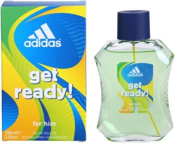 Adidas Get Ready! eau de toilette per uomo 100 ml