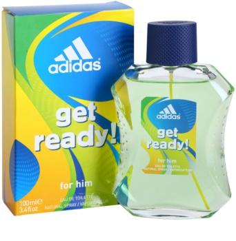 Adidas Get Ready! eau de toilette pour homme 100 ml