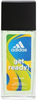 Adidas Get Ready! Дезодорант с пулверизатор за мъже 75 мл.