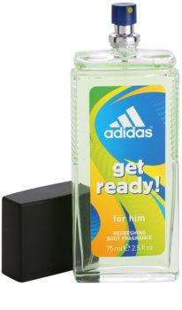Adidas Get Ready! Deo met verstuiver voor Mannen 75 ml