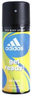 Adidas Get Ready! deodorant spray para homens 150 ml