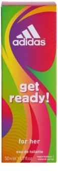 Adidas Get Ready! eau de toilette pentru femei 50 ml