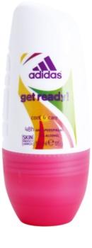 Adidas Get Ready! desodorante roll-on para mujer 50 ml