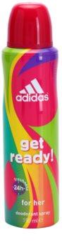 Adidas Get Ready! dezodorant w sprayu dla kobiet 150 ml